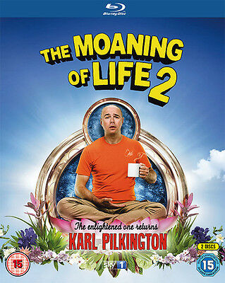 The Moaning of Life: Series 2 Bluray NEW