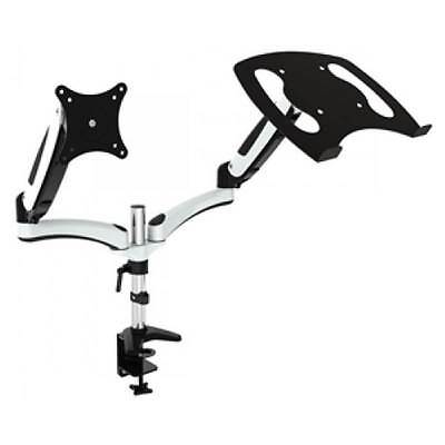 Vision Mounts Gas Spring LCD Monitor and Notebook Holder Arm with Desk Mount