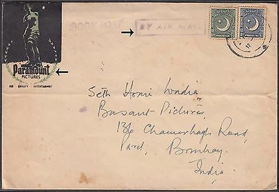 Pakistan Paramount Pictures Cinema Advertisement Cover To India Very Uncommon