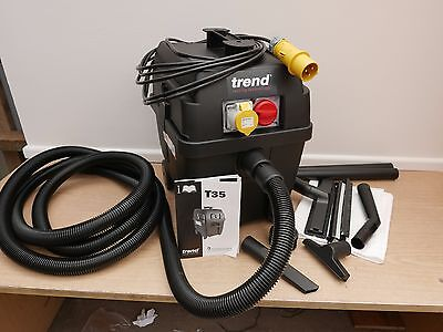 Trend T35Al 1000 Watt M Class Wet & Dry Vacuum Dust Extractor 110V