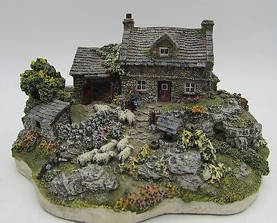 Danbury Mint SHEPHERDS COTTAGE Country Village Collection by Jane Hart Miniature