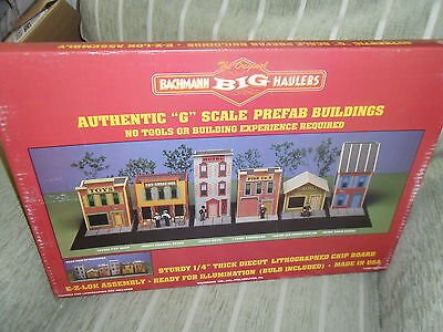 Bachmann G Scale 95005 Big Haulers Ice Cream Parlour Kit, Brand New!