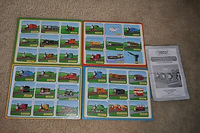 Briarpatch THOMAS AND FRIENDS Station Stop Matching Game - parts only