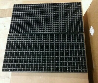 (2) Seed Starting 512 Cell Plug Propagation Trays