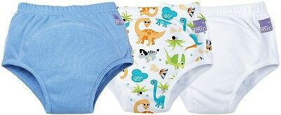 Bambino Mio POTTY TRAINING PANTS 3 PACK DINO Nappy Changing 18m - 3yrs BN