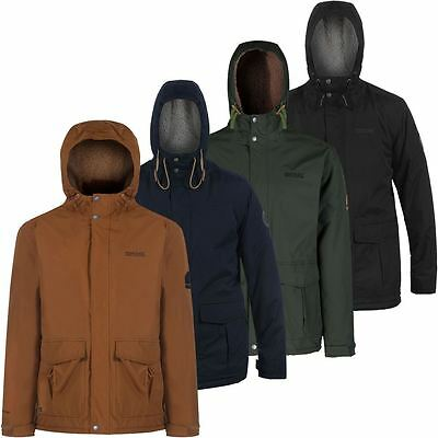 Regatta Mens Sternway Midweight Waterproof Sherpa Fleece Jacket