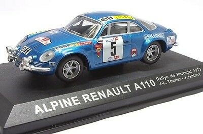 Rally Collection Altaya Renault Alpine A110 Therier Portugal 1973 - IXO 1/43