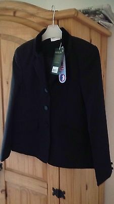 BNWOTS  Kids Dublin Haseley Black show Jacket size 32""
