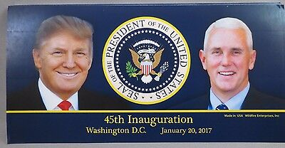 Wholesale Lot Of 10 Trump Pence 45Th 45 Inauguration President Seal Stickers Usa