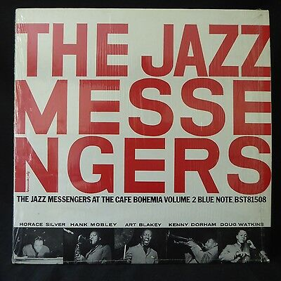 JAZZ MESSENGERS At The Cafe Bohemia Vol 2 SHRINK WRAP BLUE NOTE BST 81508 LP NM