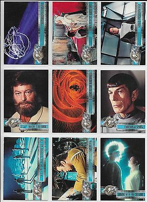 Star Trek CINEMA 2000 Complete BASE Set + FEMALE GUEST STARS + DARK SIDE + Wrap
