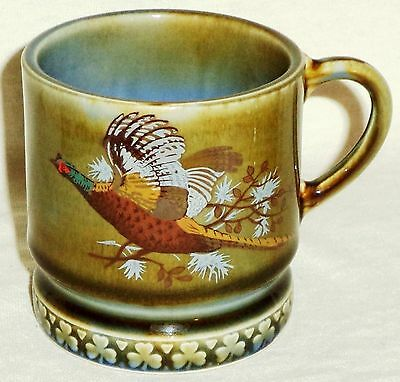 Wade Irish Porcelain Coffee Mug Pheasant