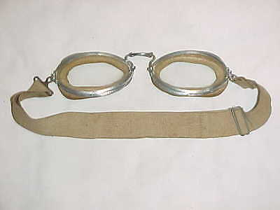 ORIGINAL & VERY GOOD CONDITION AAF Type B-1/B-1A Flying Goggles (Luxor No. 6)