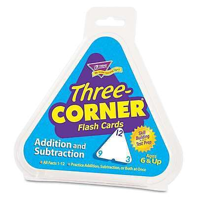 Three Corner Addition Subtraction Flash Cards / Elementary Math Teacher by TREND