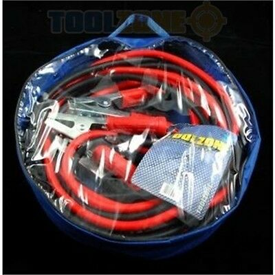 Trade Quality 800amp 6 Metres Professional Jump Leads - Heavy Duty Booster Long