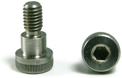 Shoulder Bolts Hex Socket Head Stainless Steel 1/4 OD x 3/8 Long Fine Qty 2