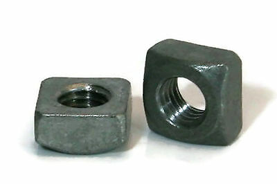 "Square Nuts Hot Dipped Galvanized Grade 2 - 1-1/8""-7 UNC - Qty-100"