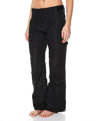 New Womens Rip Curl DEELITE PANT Snow Board Ski Waterproof Mountain Pant - Black