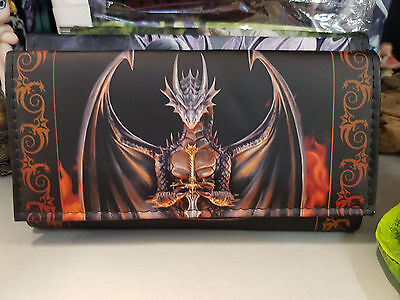 Anne Stokes Dragon Warrior Mythical Creatures Coin Wallet Purse