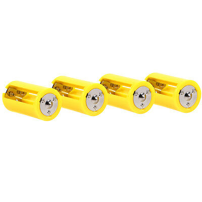 Battery Cell Adapter Holder 1.5V Output Box Convert 3 AA to D Size Convertor 4x