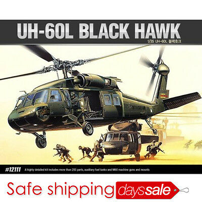 [BrandNew] ACADEMY 1/35 Plastic Model Kit UH-60L BLACK HAWK Helicopter