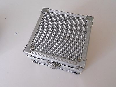 SILVER ALLUMINIUM GAMEBOY CASE for Game Boy ADVANCE SP GBA SP (i)