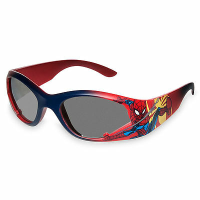 Disney Store Spiderman Super Hero Boys Kids Sunglasses 100% UV Protection NEW