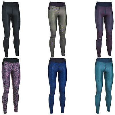 Under Armour Womens HeatGear Armour Printed Leggings - New Ladies UA Fitness