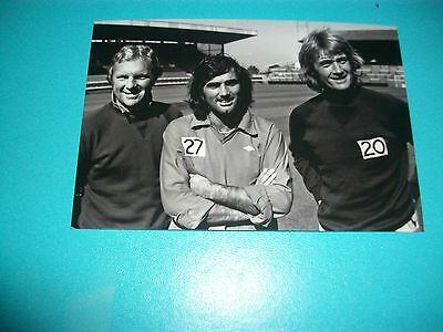 FULHAM Players GEORGE BEST Bobby Moore Rodney Marsh  1970s  Photo REPRINT