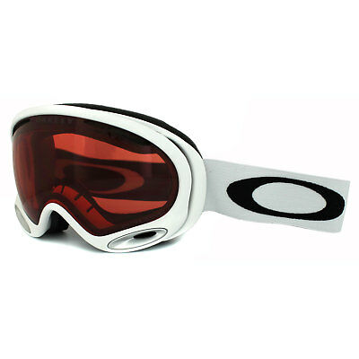 82f18ac2d6 Oakley Ski Snow Goggles A Frame 2.0 59-747 Polished White Prizm Rose