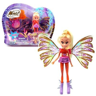 Winx Club - Sirenix Mini Magic Puppe - Fee Stella mit Verwandlungsfunktion