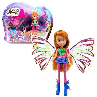 Winx Club - Sirenix Mini Magic Puppe - Fee Flora mit Verwandlungsfunktion