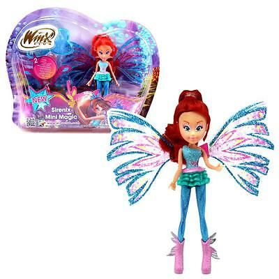 Winx Club - Sirenix Mini Magic Puppe - Fee Bloom mit Verwandlungsfunktion