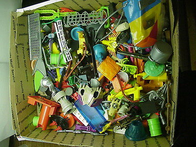Huge Mixed Lot of 240+ Vintage Weapons Parts Accessories For Figures Vehicles #2