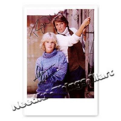 Cagney & Lacey / Sharon Gless & Tyne Daly - Kult Serie 1981 - Autogrammfoto  
