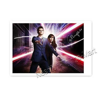 Catherine Tate & David Tennant / Doctor Who & Donna Noble - Autogrammfoto 
