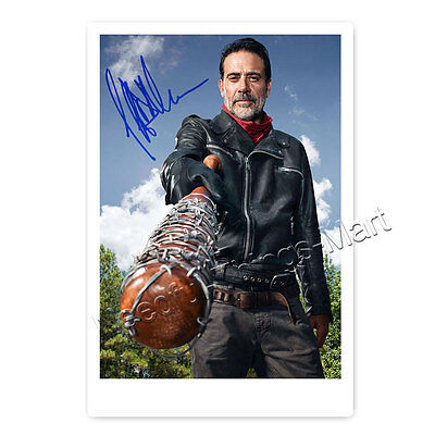 Jeffrey Dean Morgan alias Negan aus The Walking Dead - Autogrammfotokarte [AK1]