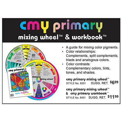 Color Wheel Company : CMY Primary Mixing Wheel