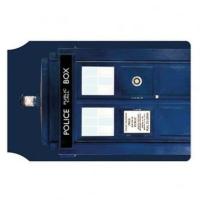Doctor Who Tardis PVC Travel Card Holder Wallet with Free UK P&P