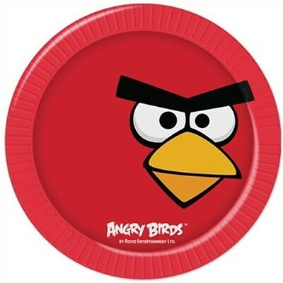 Angry Birds Party Plates - 8