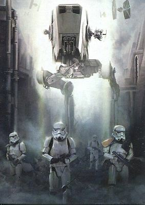 Star Wars Rogue One Mission Briefing Comic Strip Chase Card #4 Stormtroopers