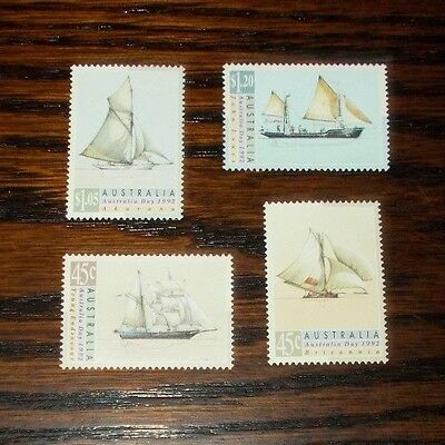 Australia Mint Stamps Australia Day 500Th Anniv Of Discovery Of America 15.1.92
