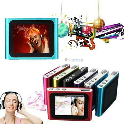 """6TH GENERATION MP3 MP4 MUSIC MEDIA PLAYER FM Games Movie 1.8"""" LCD SCREEN NEW SN"""