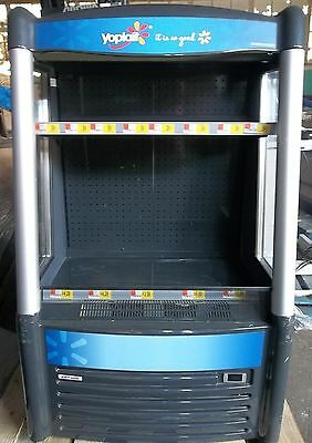 Cooler, Reach In, Open Air Display, Led, Aht, Ac-W Led