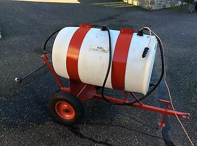 SCH TOWABLE SPRAYER 180 Ltrs for quad or sit on lawn mower