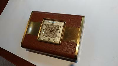 Vintage Phinney Walker Jewelry Box With Built In Watch