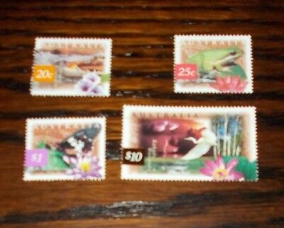 Australia Mint Stamps Fauna And Flora  (2Nd Series) 10.4.1997