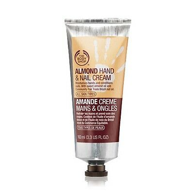 The Body Shop Almond Hand & Nail Cream Travel/Mini 1oz / 30ml NEW
