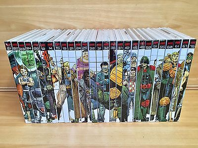 Judge Dredd The Mega Collection X27 Sealed Books graphic novel 2000AD
