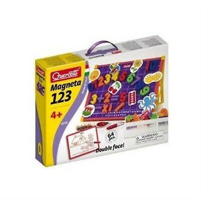 Quercetti Magnetino Number Magnetic Kit - Kids Fun Learning Educational Magnet